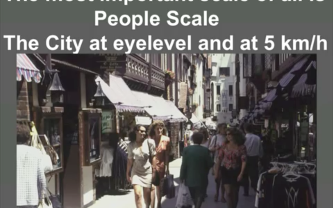 Jan Gehl-The human scale: strategie per una città più vivibile