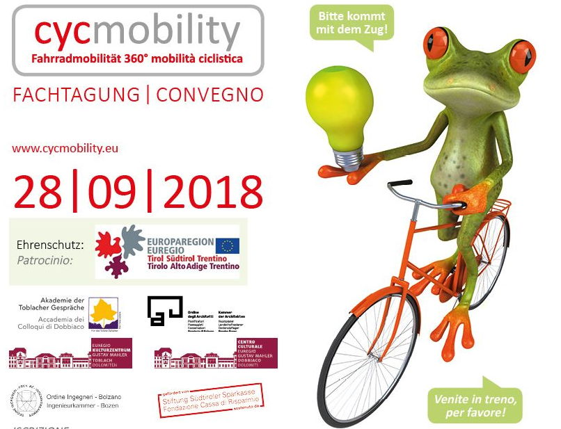 Fahrradmobilität 360° mobilità ciclistica-Fachtagung | Convegno