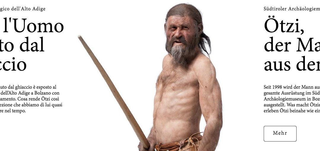 Nuovo museo per Ötzi – Ice man – Neues Museum für Ötzi